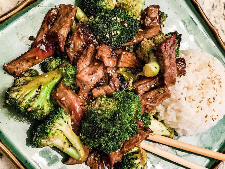 Stir Fry Broccoli and Beef