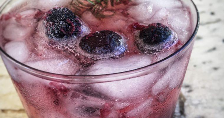Blueberry Vodka Cocktail