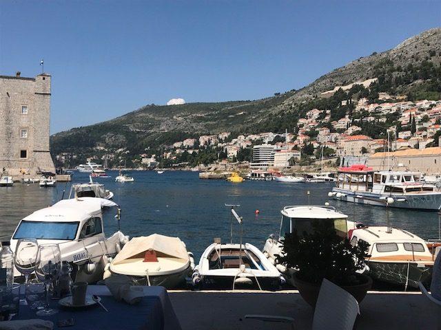 Exploring the walled city of Dubrovnik, Croatia