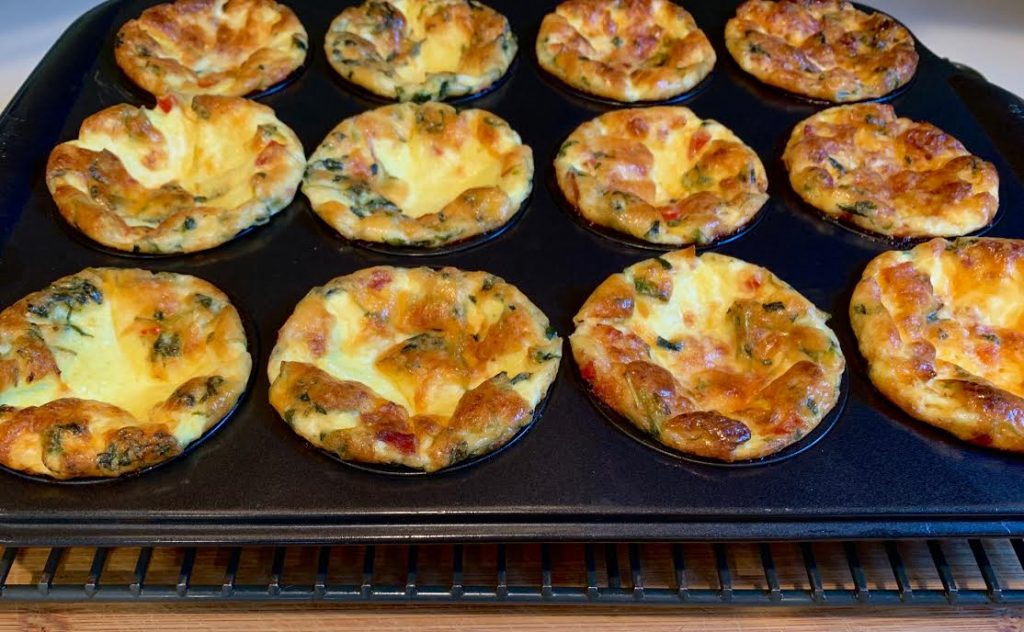 Crustless Mini Quiche