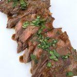 Pan Seared Skirt Steak