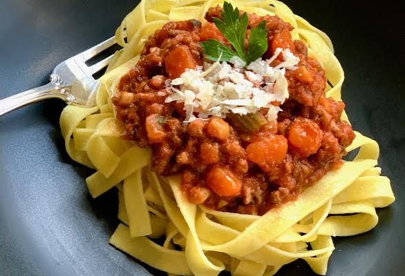 Classic Bolognese Sauce in an Instant Pot or Stove Top