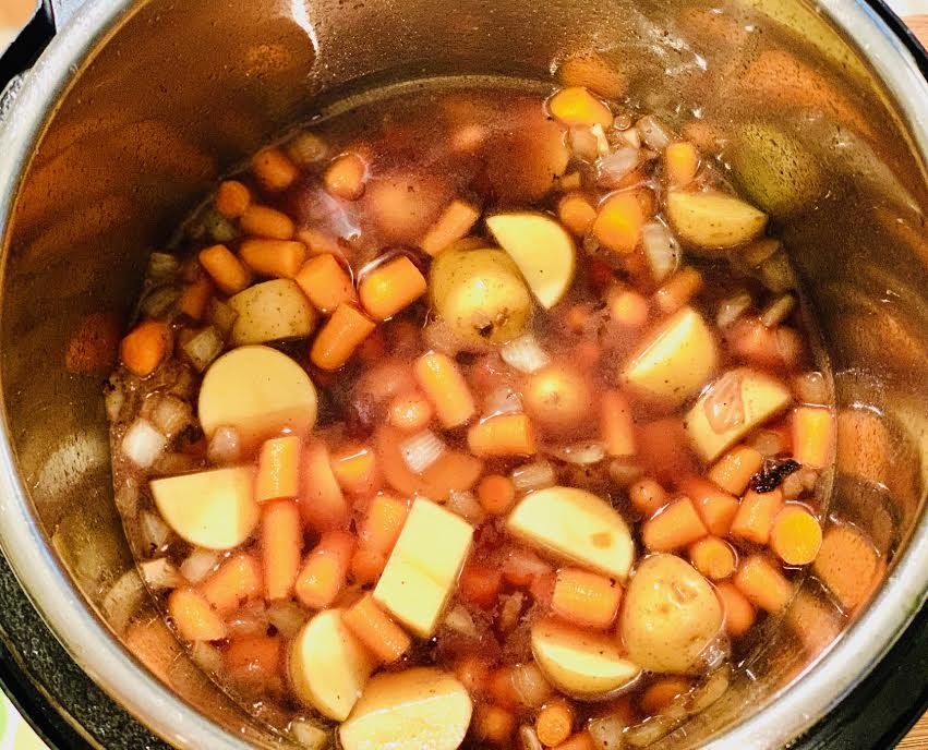 Carrots and Potatoes for beef stew