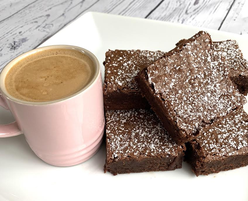One Bowl Espresso Brownies