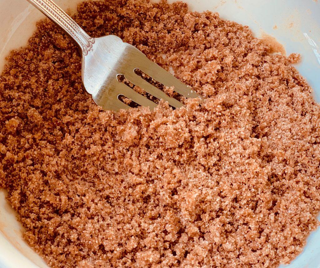 Cinnamon Strudel Topping