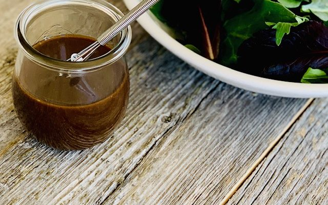 Classic Vinaigrette Recipe – Champagne and Balsamic