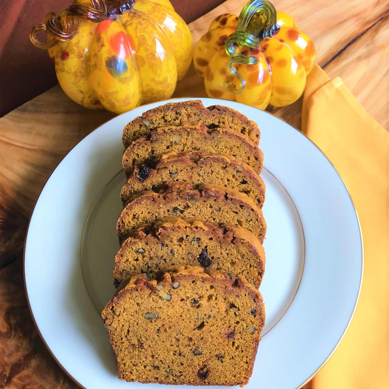 Pumpkin Nut Bread and Batter