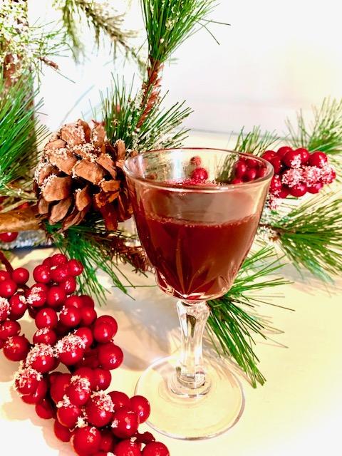 Cherry Cranberry Liqueur