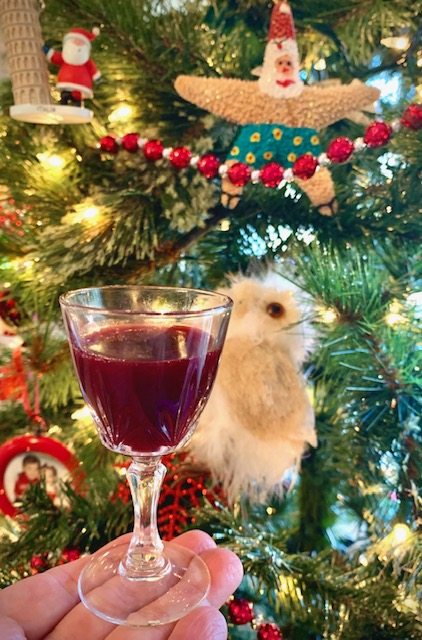 Cranberry Cherry Liqueur