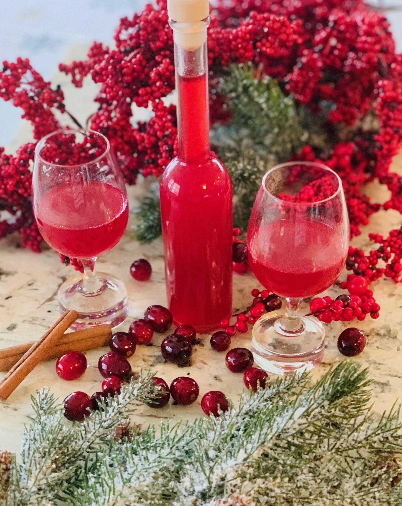 Cranberry Orange Liqueur Recipe