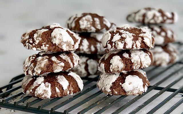 Stacked Crinkle Cookies