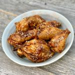 Asian air fryer wings