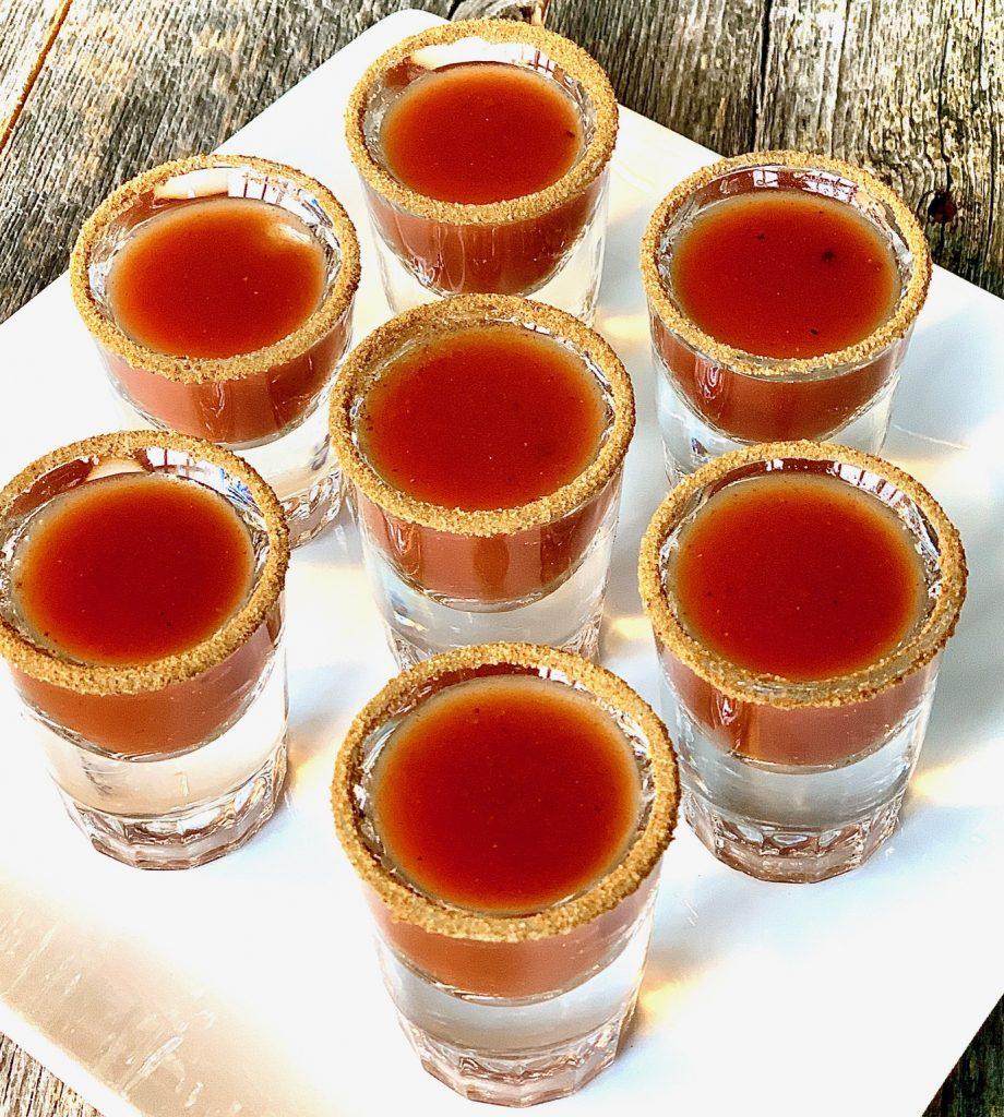Mini Bloody Mary's