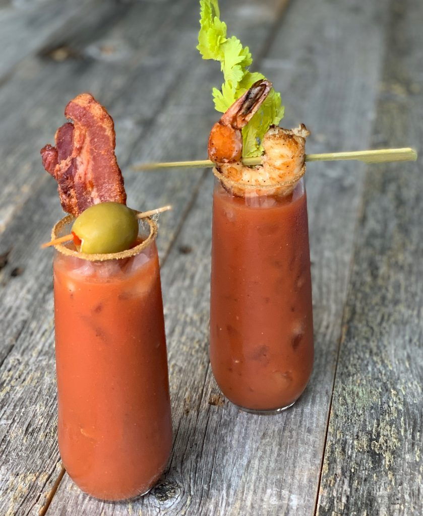 Bloody Mary's with Garnishes