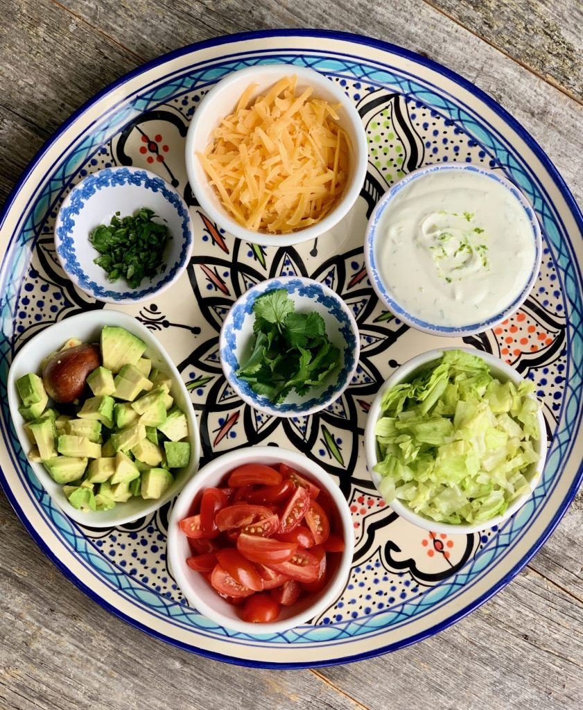 Mini Taco Ingredients