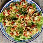 Platter of mini tacos