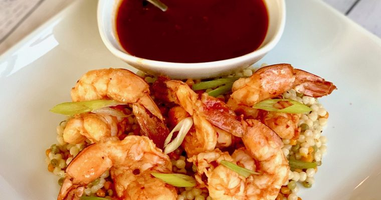 Roasted Shrimp with Chipotle Sauce