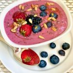 Berry Smoothie Bowl with Sunflower Seeds