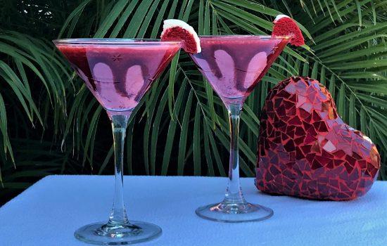 Red Velvet Martinis