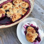 Cobbler with Three Mixed Berries