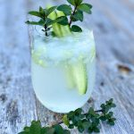 Mint and Cucumber Vodka Cocktail