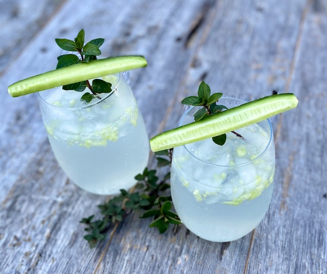 Cucumber Mint Cocktail