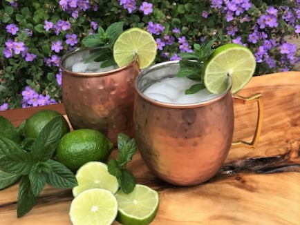Refreshing Moscow Mules
