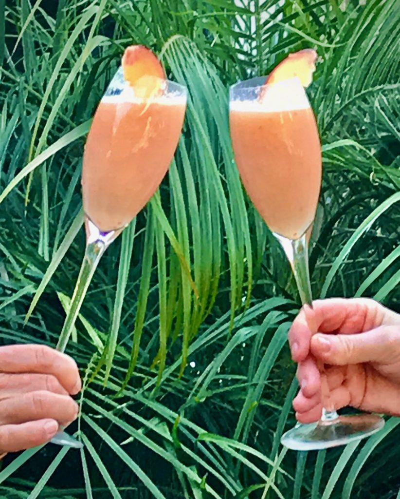 Enjoying the Classic Bellini Cocktail