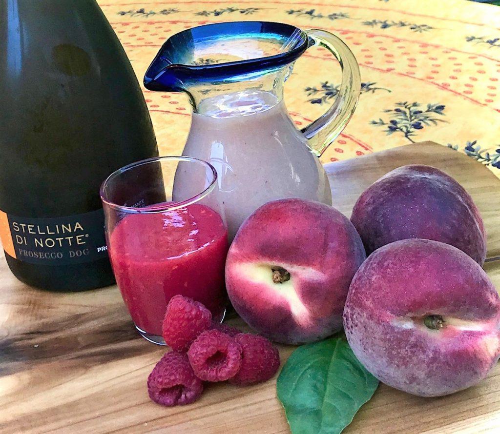 Bellini fruit purees