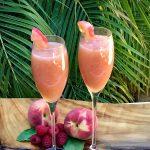 2 Bellini Cocktails