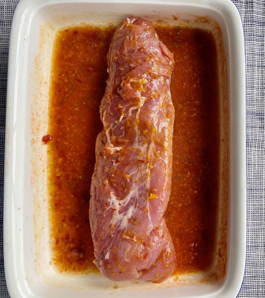 Marinating Pork tenderloin