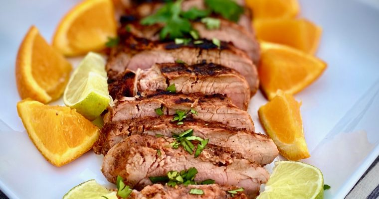 Chili Lime Pork Tenderloin