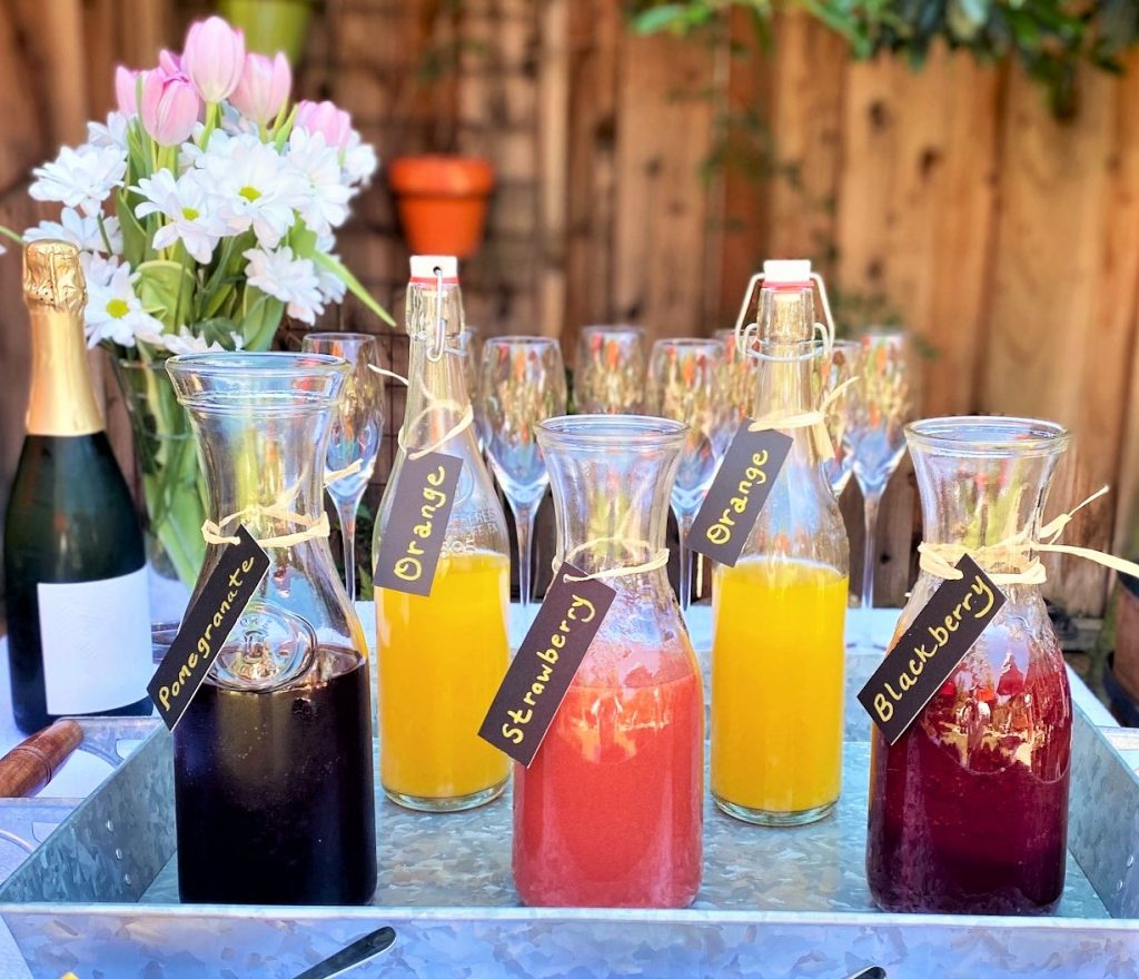 Mimosa Bar juices
