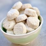Mexican Wedding Cookies in a bowl