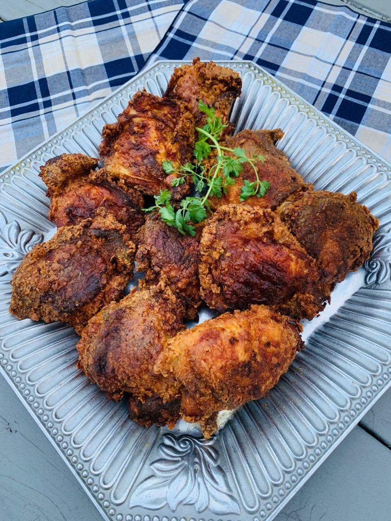 Platter of Buttermilk Fried Chicken