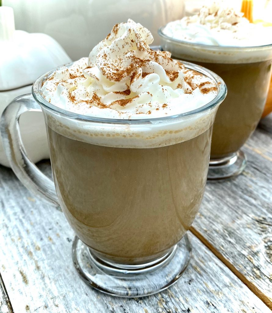 One pumpkin latte