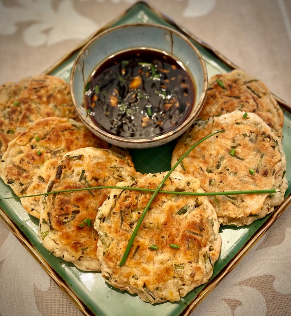 Korean Scallion Pancakes