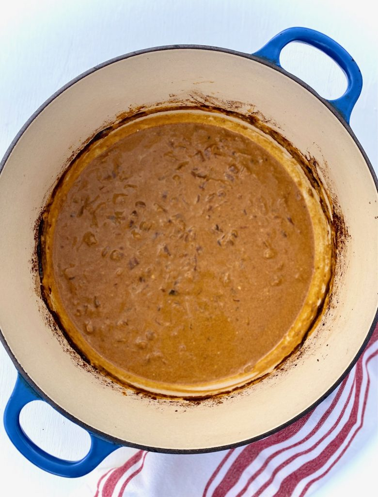 Paprikash sauce with Sour Cream added