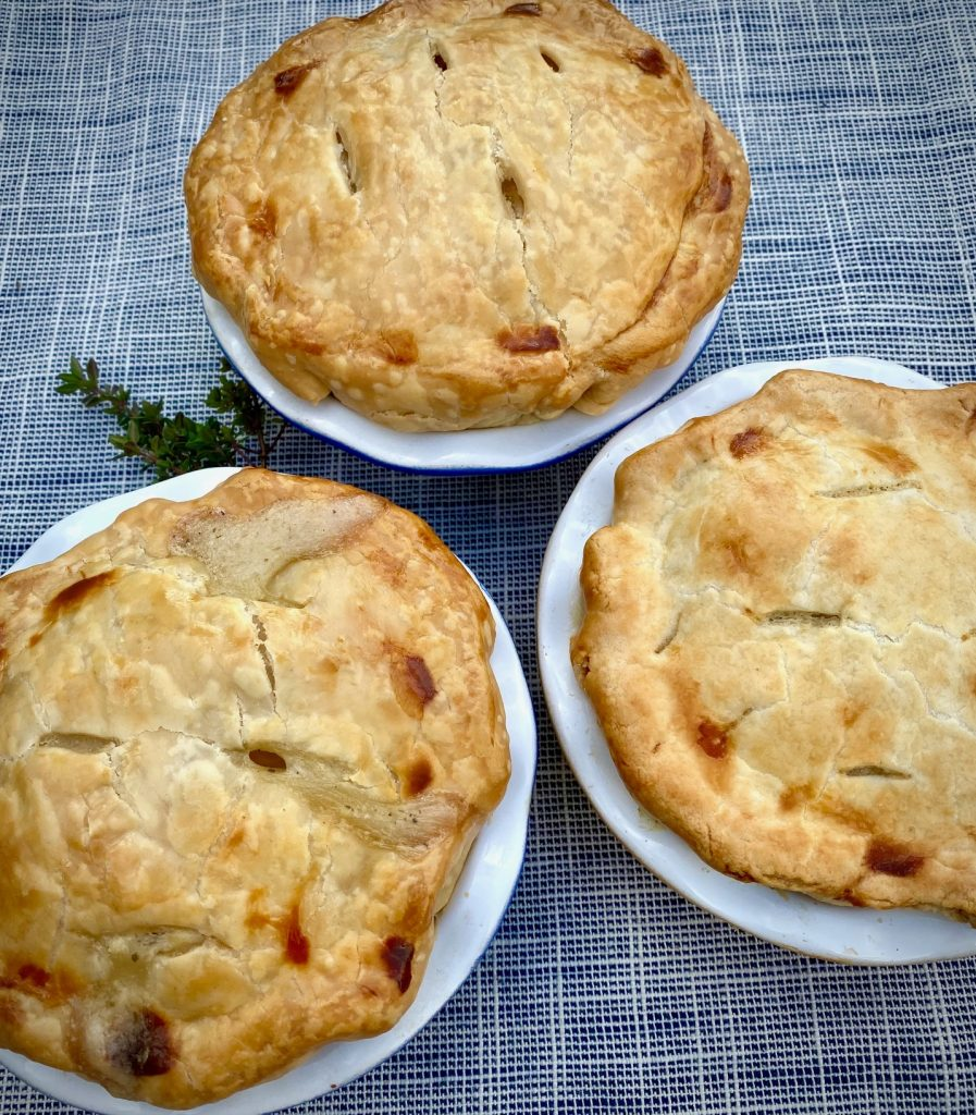 3 Homemade Chicken Pot Pie Recipe