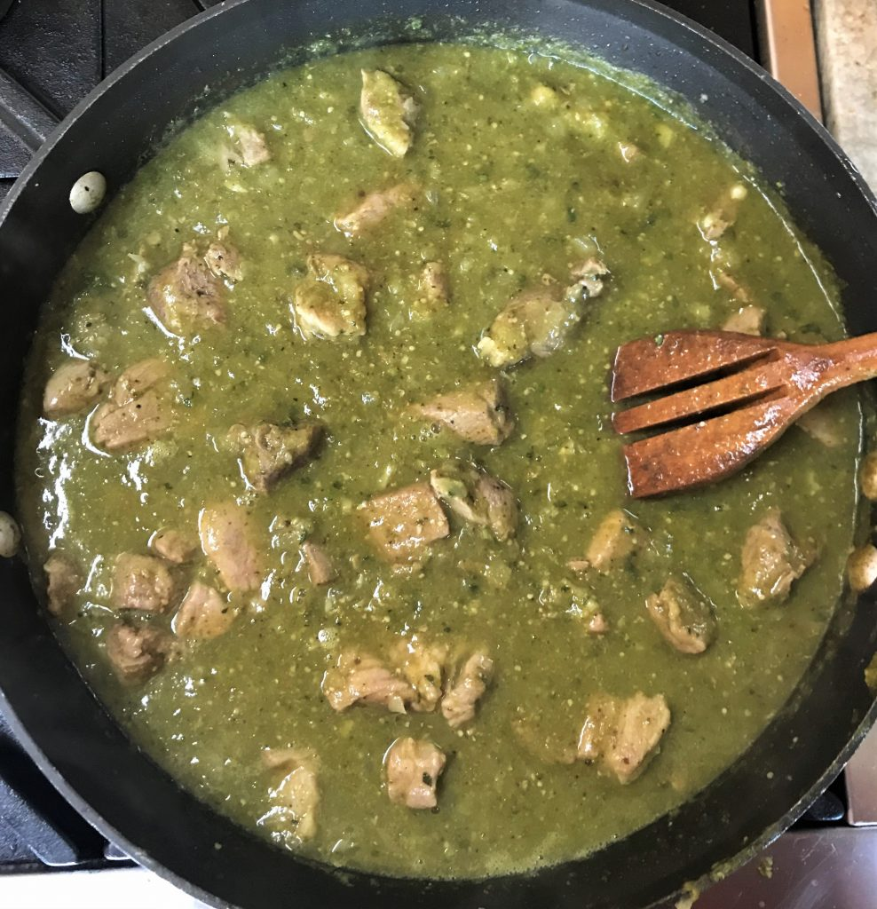 Cooked Chili Verde