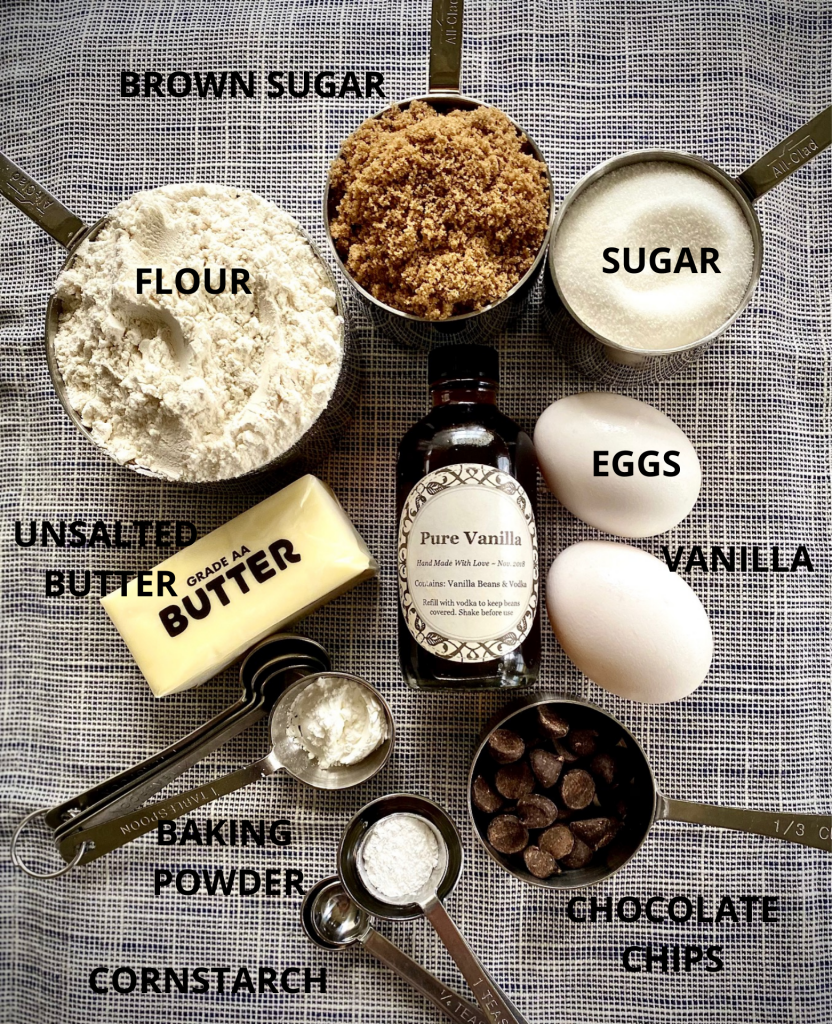 BLONDIE RECIPE INGREDIENTS