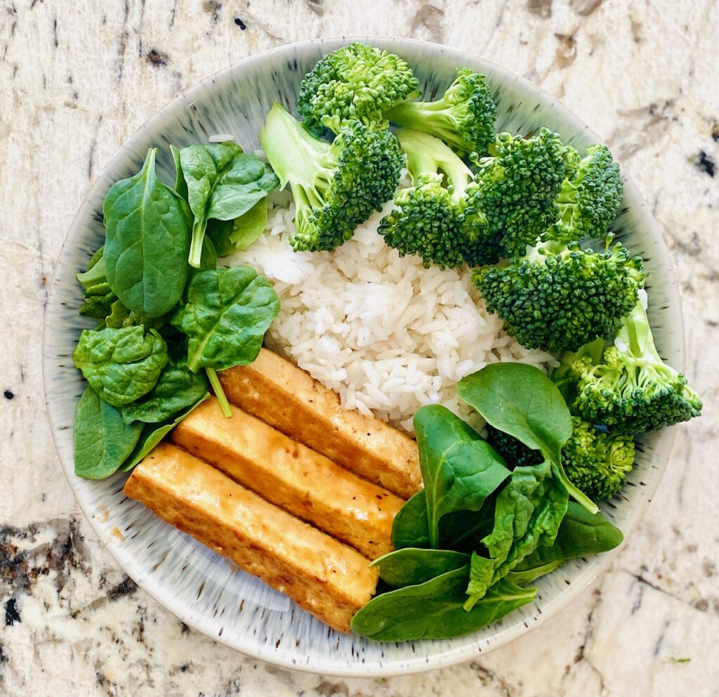 buddha bowl with veggies