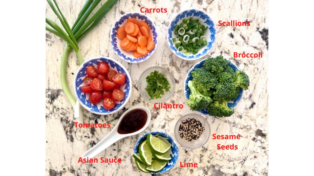buddah bowl ingredients