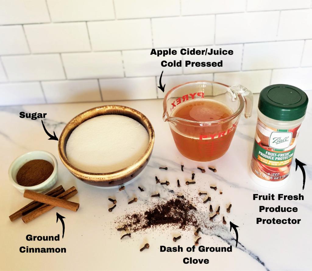 Applesauce Ingredients